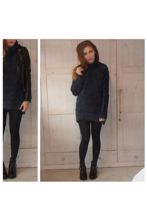 navy H&M jumper