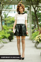 5 Ways to Rock a Leather Skirt