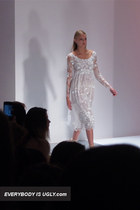 """Lace, lace, and more lace"": Jill Stuart's Spring/Summer 2013 Collection"