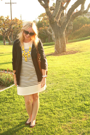 Anthropologie dress - Forever 21 sweater - Target flats