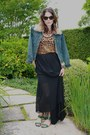 Vintage-jacket-pleated-maxi-acne-skirt-leopard-print-dolce-gabbana-top-g