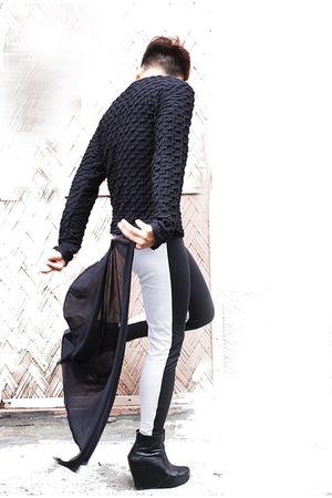 black top - black Soule Phenomenon shoes - black PROUDRACE pants