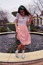 Pink-vintage-skirt-blue-vintage-shoes-white-socks-white-modcloth-shirt-s