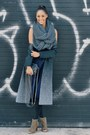 gray coat ombre wool rag & bone coat - light brown zadig and voltaire shoes