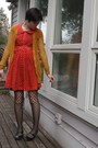 Red-thrifted-dress-yellow-rodarte-for-target-cardigan-black-gifted-tights-