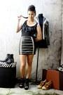 Black-bestfinds-thriftshop-skirt