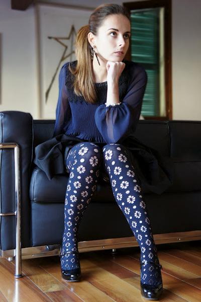 Miu Miu skirt - H&M shirt - Miu Miu heels