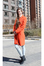 Red-topshop-coat