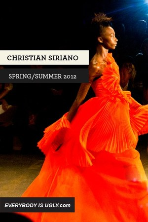 chartreuse Christian Siriano dress