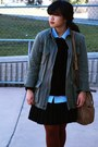 Camel-liz-claiborne-coat-black-levis-jeans-army-green-urban-outfitters-jacke