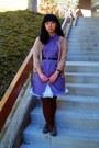 Amethyst-dress-mustard-sweater-brick-red-plaid-shirt-dark-brown-tights-t