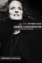 Grace Coddington: Chic Fashion Insider of the Week