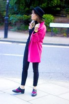 H&M coat - warehouse jeans - asos flats