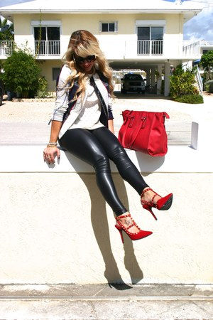 ivory plaid blazer Target blazer - red lulus shoes