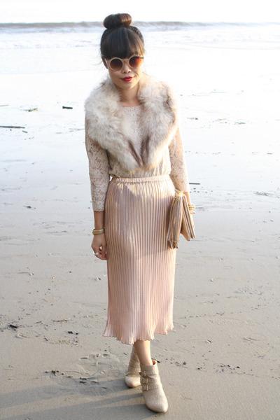 peach Motel skirt