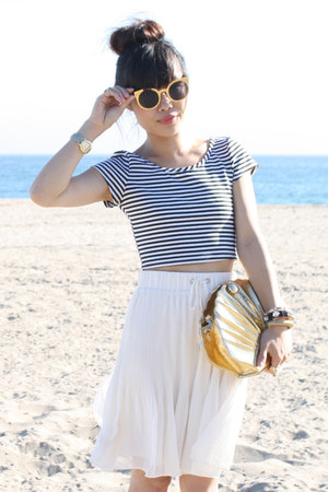 misope top - f21 skirt