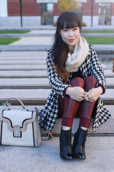 beige kiera bag melie bianco bag - black Zara boots