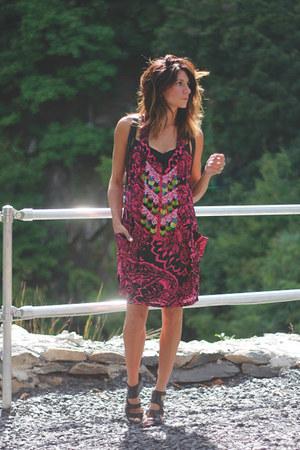 hot pink Nanette Lepore dress