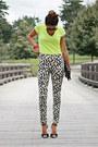 Gap-shirt-h-m-pants-jeffrey-campbell-heels