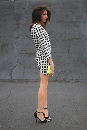 Topshop dress - Jeffrey Campbell heels