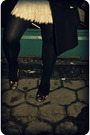 Gold-prada-shoes-black-kate-spade-coat-black-rachel-by-rachel-roy-accessorie
