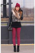H&M scarf - H&M pants
