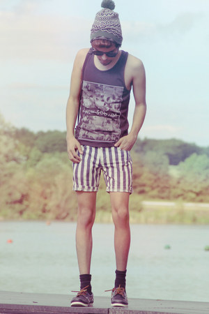Topman shoes - Topman hat - Topman shorts - Topman sunglasses - Topman vest