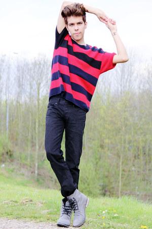 Marni sweater - Topman boots - Topman pants