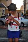 Forever-21-hat-zara-t-shirt-forever-21-skirt-forever-21-wedges