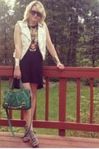 feline H&M dress