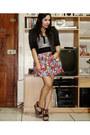 Hot-pink-forever-21-skirt