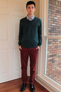 Shoes-old-navy-sweater-plaid-old-navy-shirt-banana-republic-pants