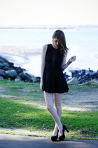 black For Love and Lemons dress - black Call it Spring shoes