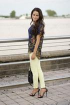 Zara pants - Paper Crown shirt - Zara heels