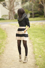 Bcbg-heels-zara-scarf-bcbg-generation-skirt-banana-republic-blouse