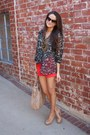 Marc-cain-bag-jcrew-shorts-gap-blouse-aldo-pumps