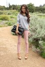JBrand jeans - Prada bag - f21 sweatshirt