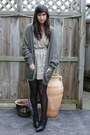 Topshop-boots-karen-walker-dress-cheap-monday-cardigan