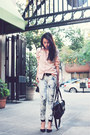 Black-zara-shoes-tie-dye-skinny-kasil-workshop-jeans