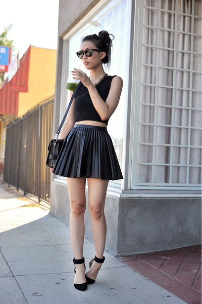 PROENZA SCHOULER purse - Ray Ban sunglasses - H&M skirt