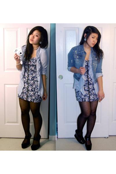 denim jacket with dress. sky blue denim jacket jacket