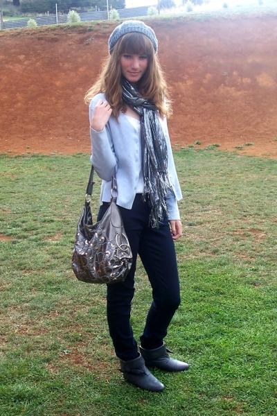Gallaz shoes - Just jeans jeans - mums  shirt - Veronika Maine jacket - Target A