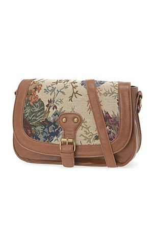 tan cross-body bag Call it Spring purse