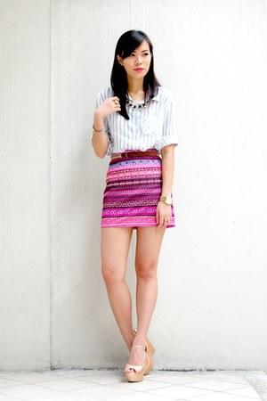 amethyst aztec shopabcd skirt