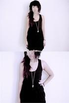 Wet Seal dress - Forever21 necklace