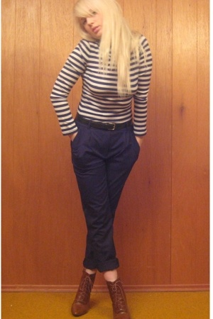 forever 21 shirt - H&amp;M pants - H&amp;M boots
