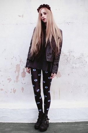 black eye print Lovelysally leggings