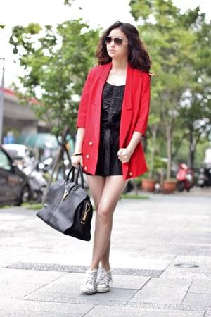 red Vieso blazer