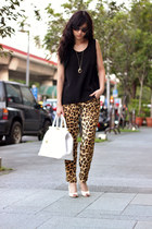 bronze Zara pants