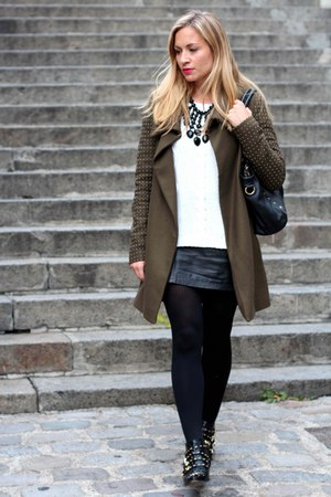 Zara shoes - Zara coat - Aldo bag
